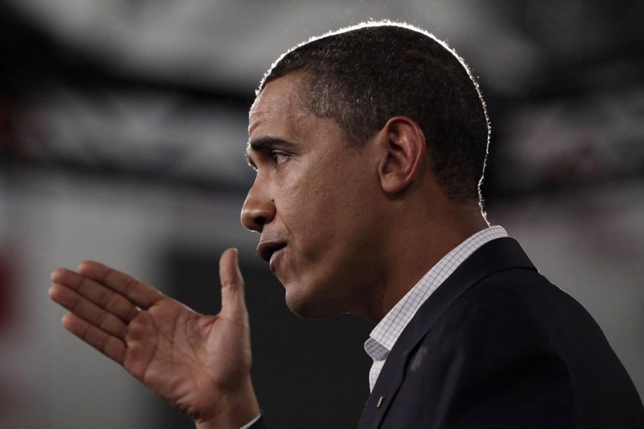 Où était Barack Obama le 19 février 2009, à 16h20? En... (Photo archives AP)