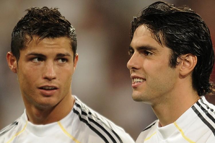 Deux des nouvelles acquisitions du Real Madrid, Cristiano... (Photo: AFP)