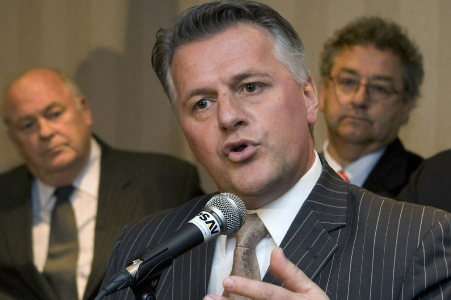 Le ministre des Affaires municipales, Laurent Lessard.... (Photo: Robert Skinner, Archives La Presse)