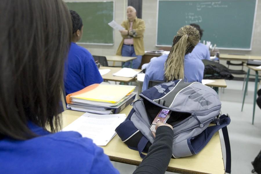De 2005 à 2009, le nombre d'élèves... (Photo: Alain Roberge, Archives La Presse)