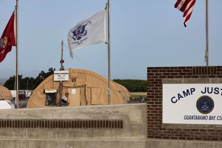 La prison de Guantanamo, à Cuba.... (Photo: AP)