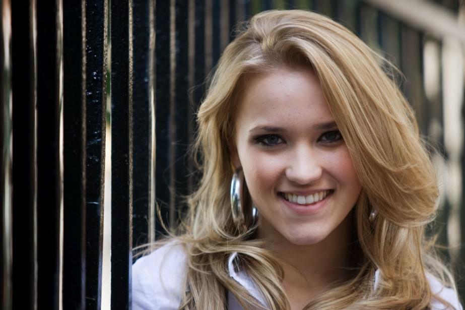 La jeune Emily Osment, une des vedettes de... (Photo André Pichette, La Presse)