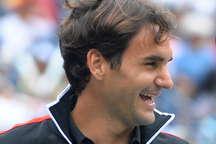 Roger Federer... (Photo: AFP)