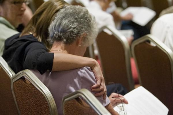 Des victimes d'Earl Jones ont assisté à l'assemblée... (Photo: David Boily, La Presse)
