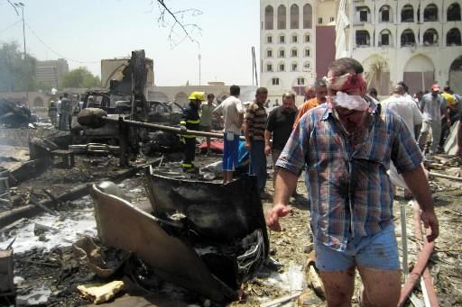 L'attentat du 19 août devant le ministère des... (Photo AFP)