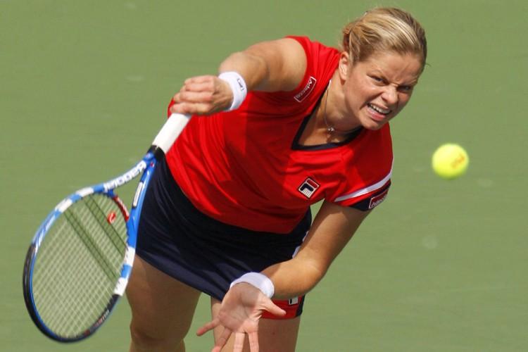 Kim Clijsters... (Photo: Reuters)