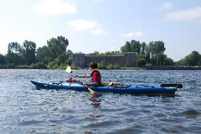 Que ce soit dans les rapides ou dans... (Photo: Simon Diotte, collaboration spéciale)