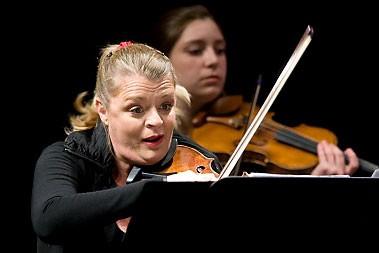 Angèle Dubeau... (Photo: François Roy, La Presse)