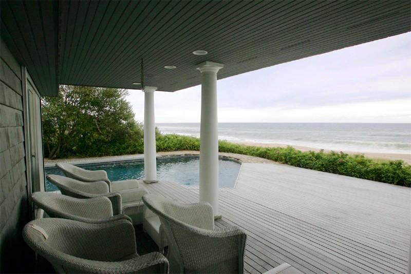 La maison de Bernard Madoff sur la plage... (Photo Associated Press)