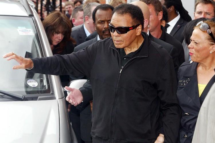 Mohammed Ali... (Photo: AFP)