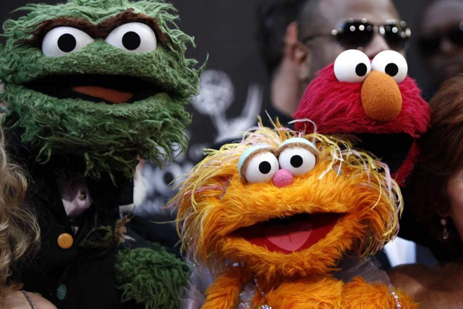 Les marionnettes de Sesame Street.... (Photo: AP)