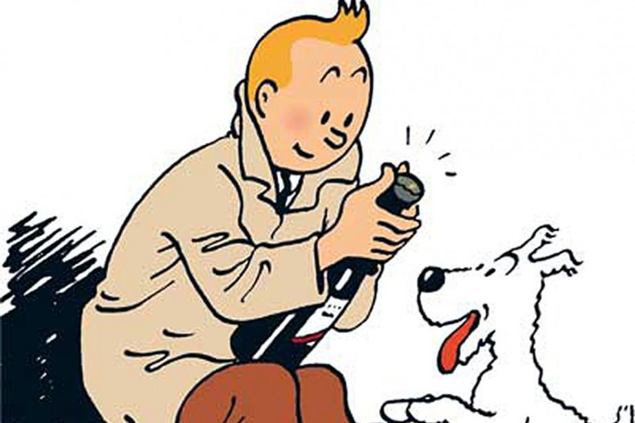 Les «Tintinophiles» de tout poil ont rendez-vous... (Photo: Bloomberg News)