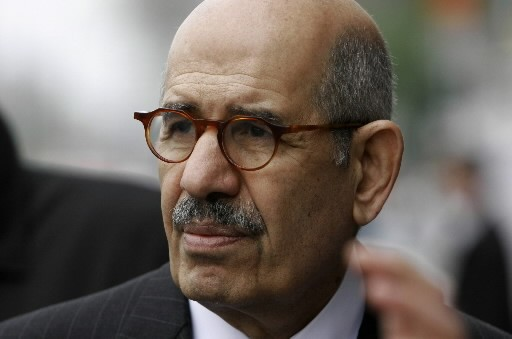 Mohamed El-Baradei.... (Photo AP)