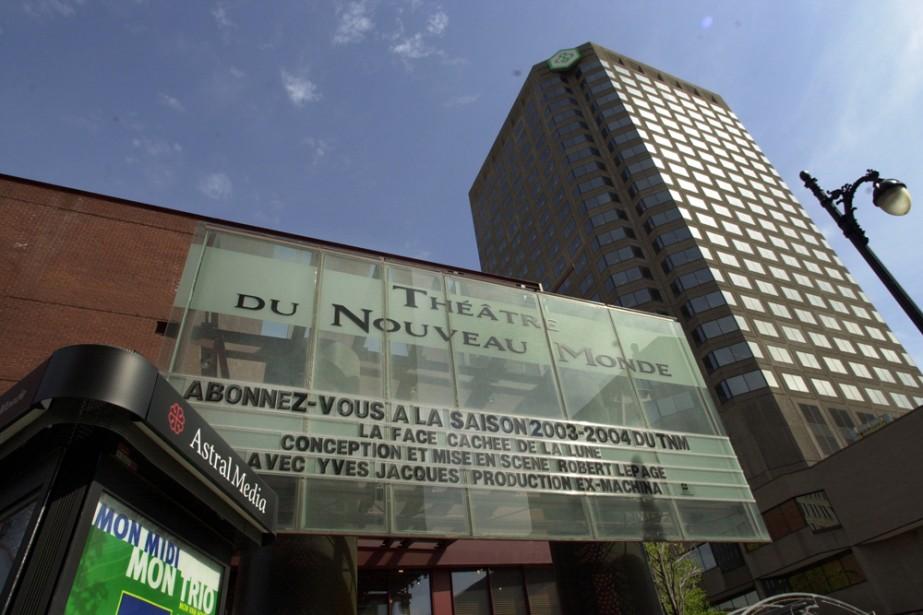 Le Théâtre du Nouveau Monde dispose de la moitié... (Photo: archives La Presse)