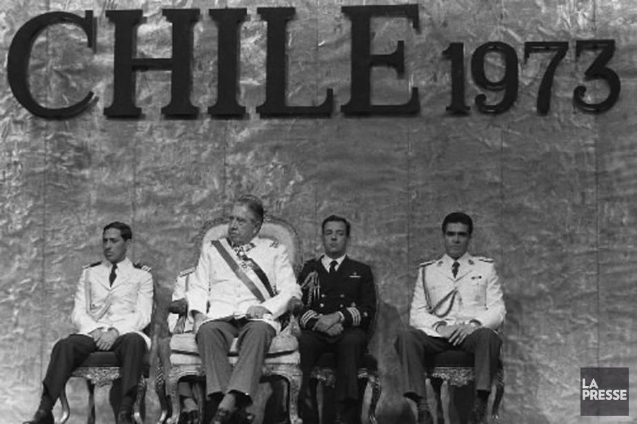 Augusto Pinochet, en 1985.... (Photo archives AFP)