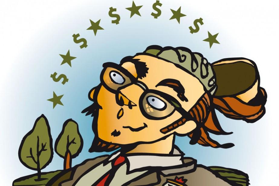 Formation en entreprise, universités... (Illustration André Rivest, La Presse)