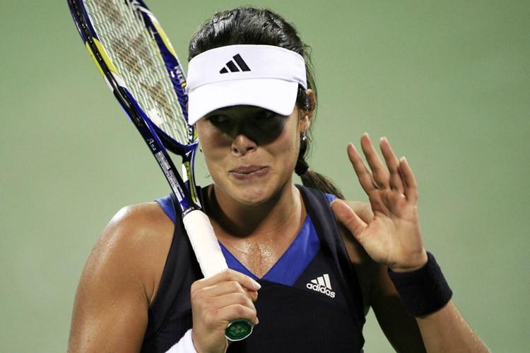 Ana Ivanovic n'a pu retenir ses larmes.... (Photo: Reuters)