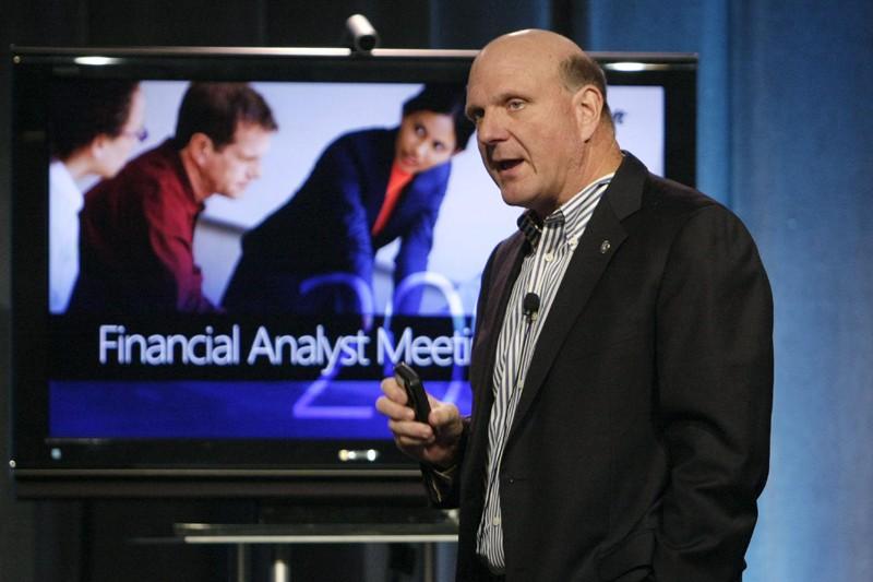 Microsoft réagit à l'offensive du géant de l'internet... (PHOTO ROBERT SORBO, ARCHIVES REUTERS)