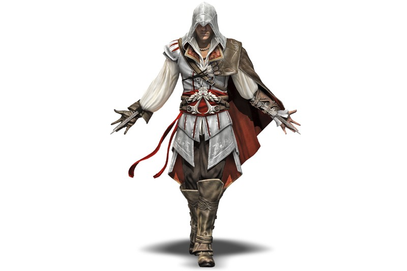 Un personnage du jeu Assasin's Creed 2, créé...
