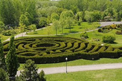 Le  labyrinthe du Domaine de Maizerets relève... (Photo: Stéphane Champagne, collaboration spéciale)