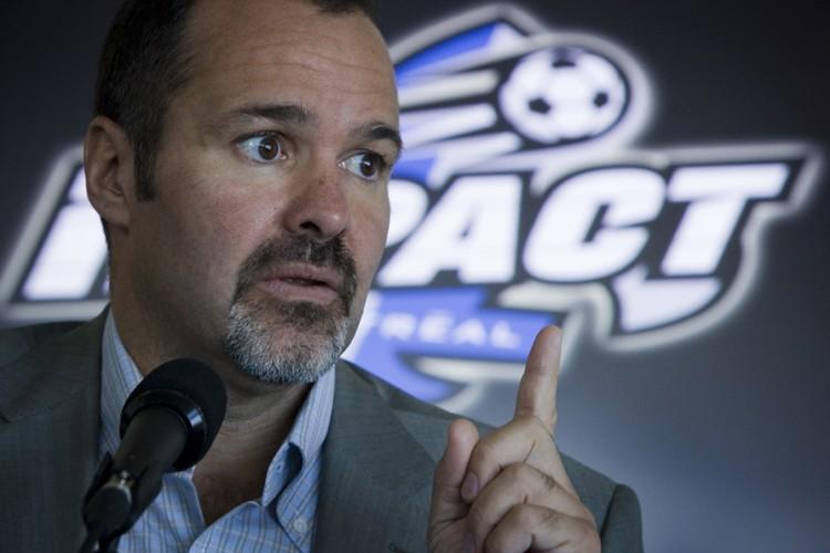La USL est mal gérée, estime Joey Saputo,... (Photo: Ivanoh Demers, La Presse)