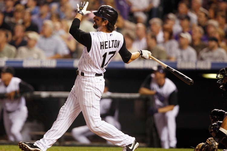 Todd Helton a produit quatre points dans la... (Photo: AP)