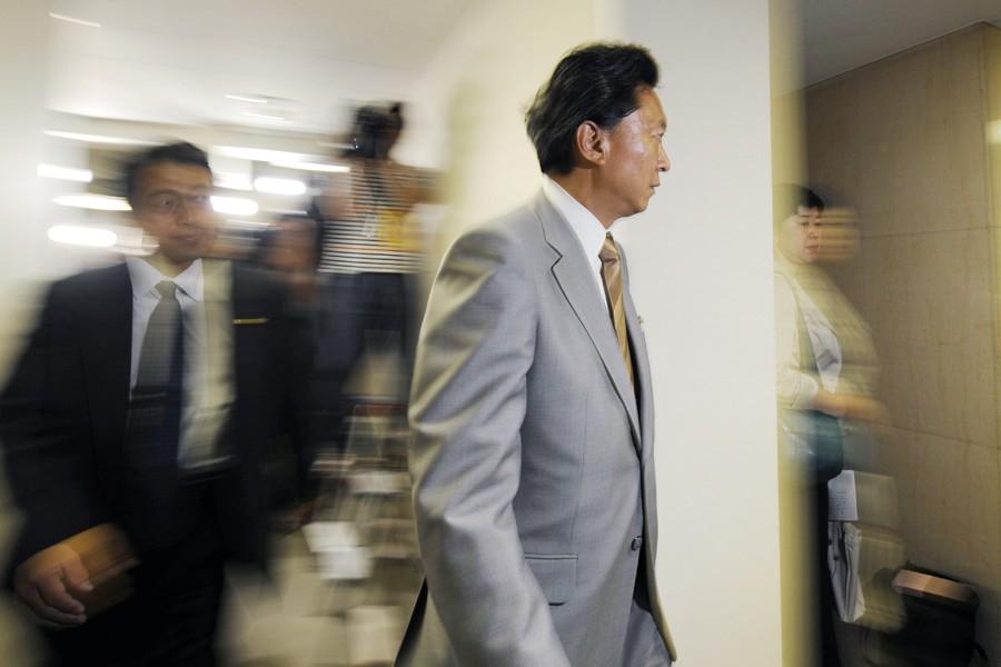 Le leader du Parti Démocrate du Japon (PDJ),... (Photo: AFP)