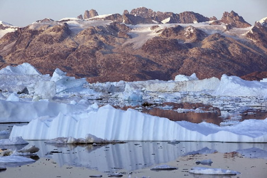 Actuellement, l'Arctique se réchauffe deux fois plus vite... (Photo archives AFP)