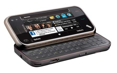Le Nokia mini N97... (Photo fournie par Nokia)