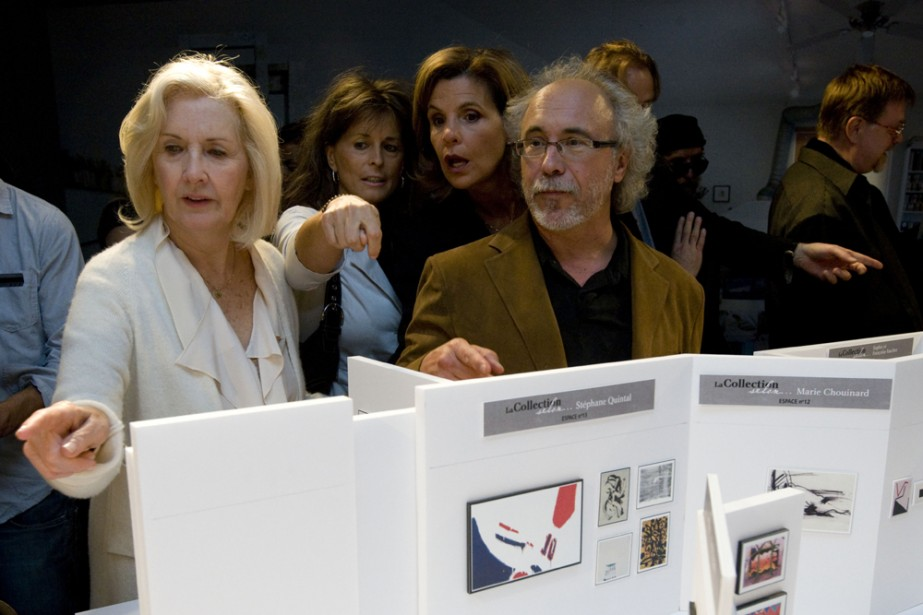 Andrée Lachapelle, Fabienne Larouche, Liza Frulla et Jean-Pierre... (Photo: André Pichette, La Presse)