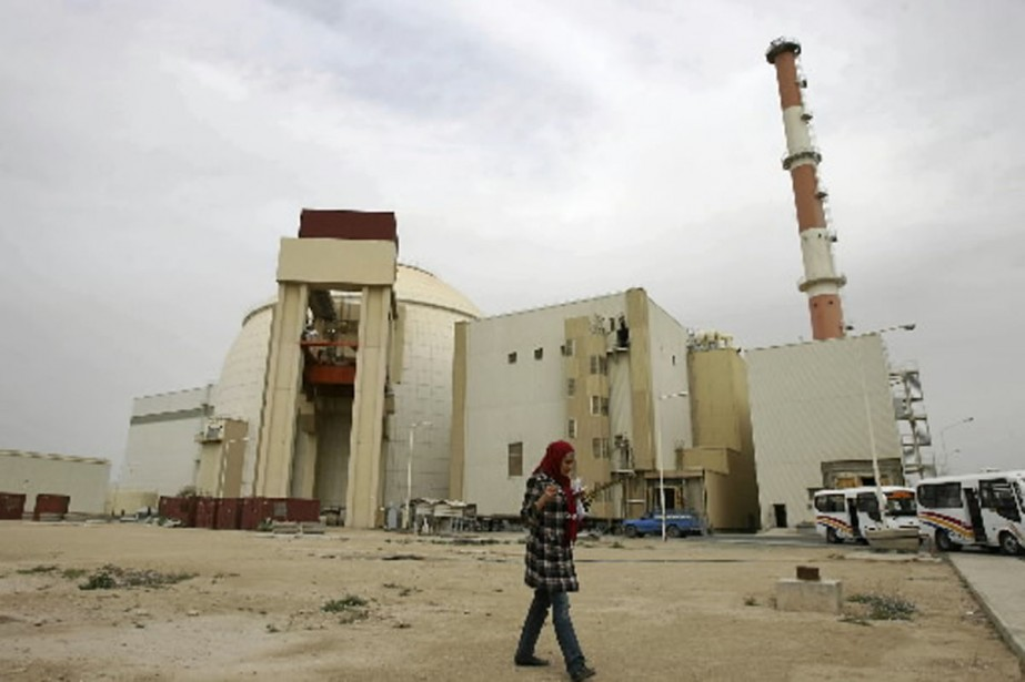 La centrale nucléaire iranienne de Bushehr.... (Photo archives Bloomberg news)
