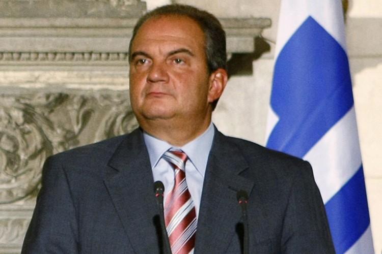 Le Premier ministre grec, Costas Caramanlis.... (Photo: Reuters)