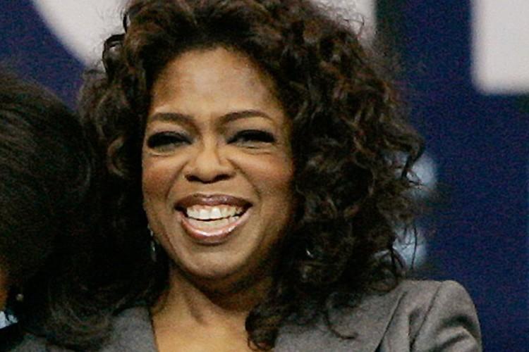 L'animatrice Oprah Winfrey.... (Photo: AP)
