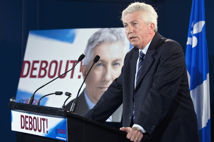 Gilles Duceppe... (Photo: PC)