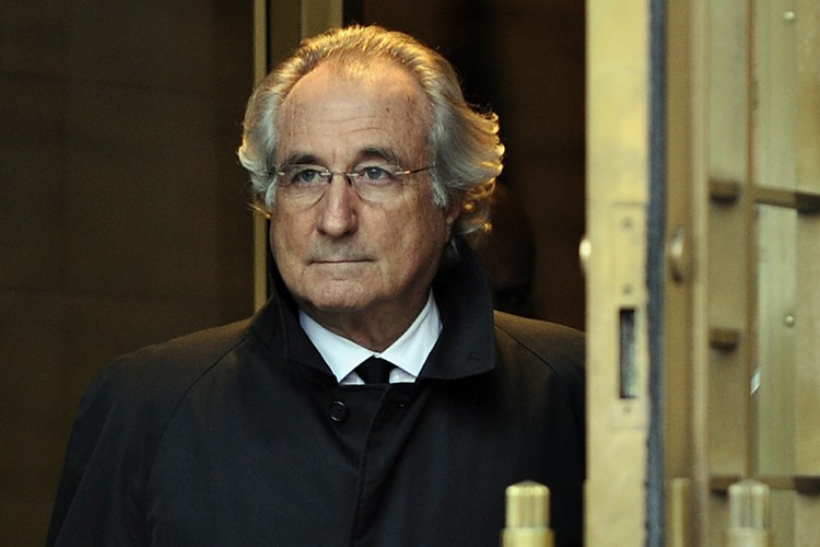Bernard Madoff... (Photo: AFP)