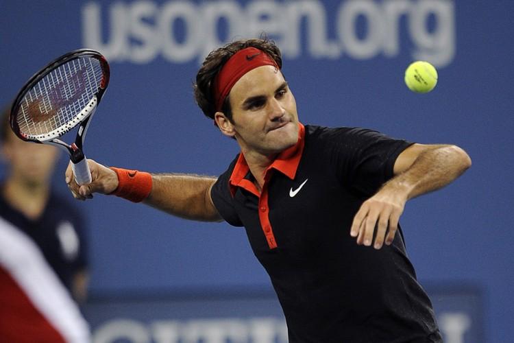 Roger Federer a écarté l'Allemand Simon Greul en... (Photo: Reuters)