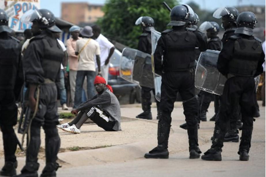 PLusieurs incidents violents ont éclaté jeudi après l'annonce... (Photo AFP)