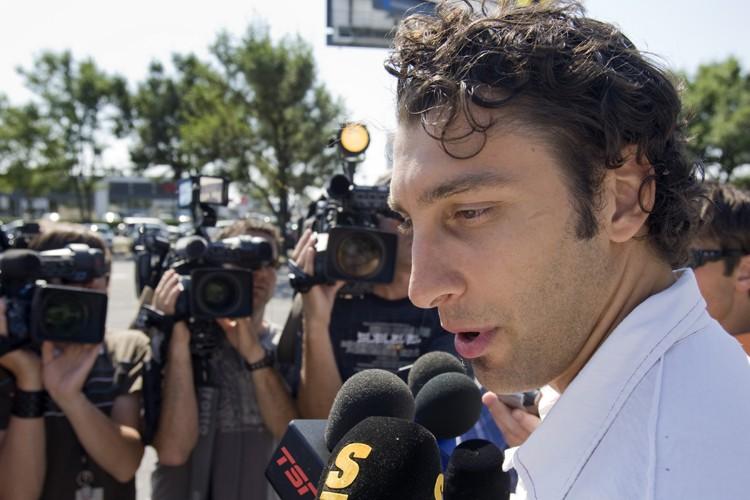 Des négociations harmonieuses entre Roberto Luongo et les... (Photo: PC)