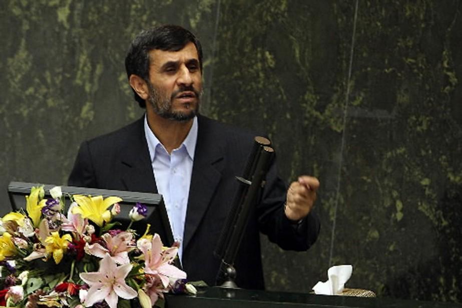 Le président iranien se moque de toute éventuelle... (Photo AFP)