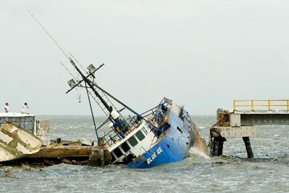 Jimena a provoqué mercredi d'importants dégâts dans la... (Photo AFP)