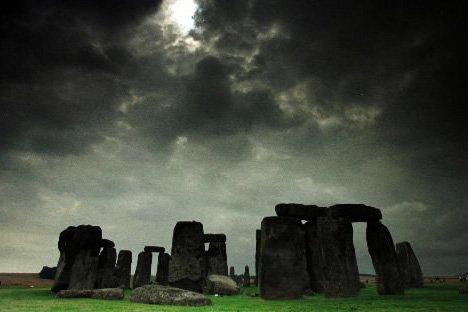 Le site de Stonehenge au Royaume-Uni serait né... (Photo: Archives Reuters)