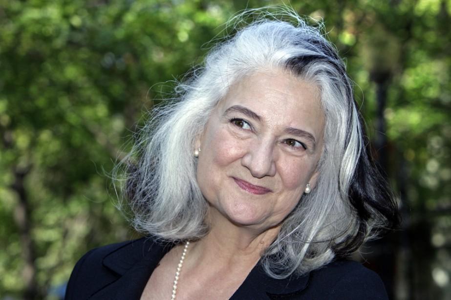 L'auteure Marie Laberge... (Photo: Robert Mailloux, La Presse)