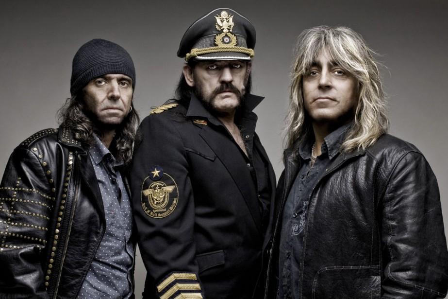 Groupe Motörhead... (photo de production)