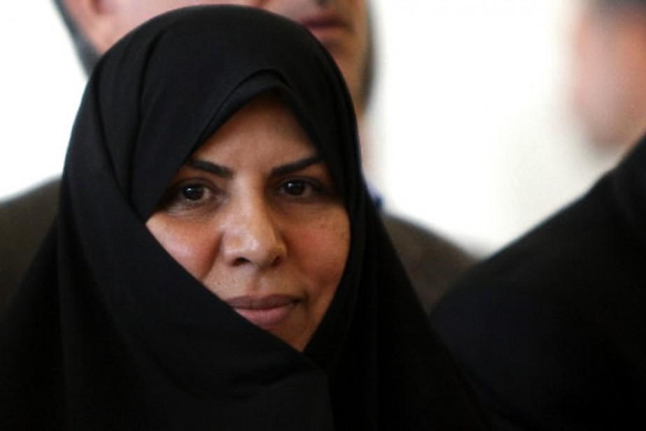 Marzieh Vahid Dastjerdi est la première femme ministre... (Photo AFP)