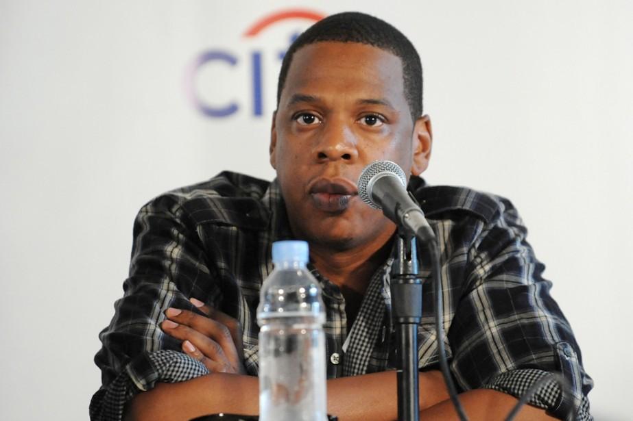 Jay-Z en conférence de presse pour annoncer la... (Photo: AP)