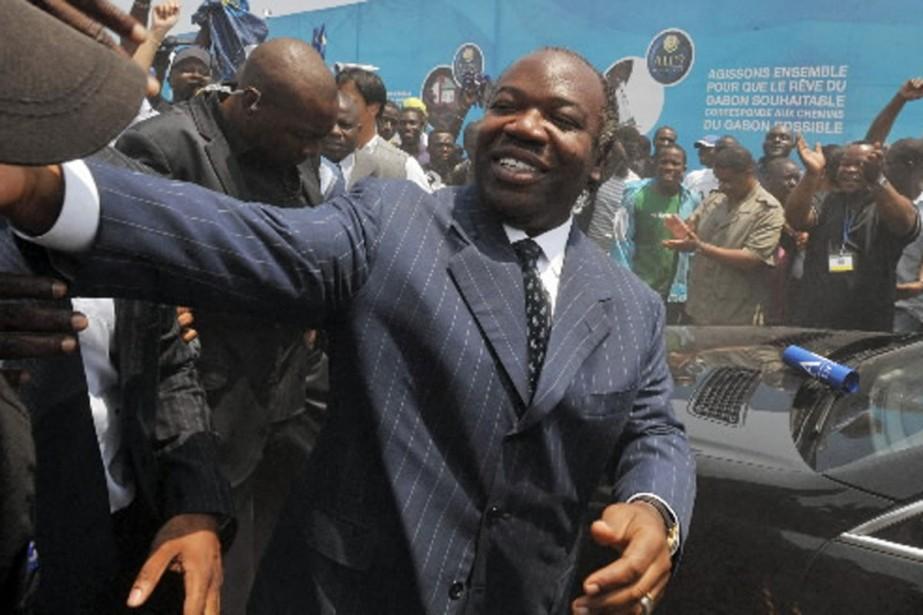 Élu président du Gabon avec 41,73% des voix, selon l'annonce jeudi... (Photo AFP)
