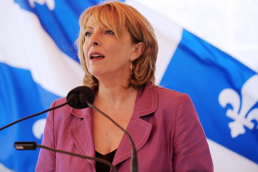 Pour la ministre de la Culture, Christine St-Pierre,... (Photo: Erick Labbé, Focus 1/Le Soleil)