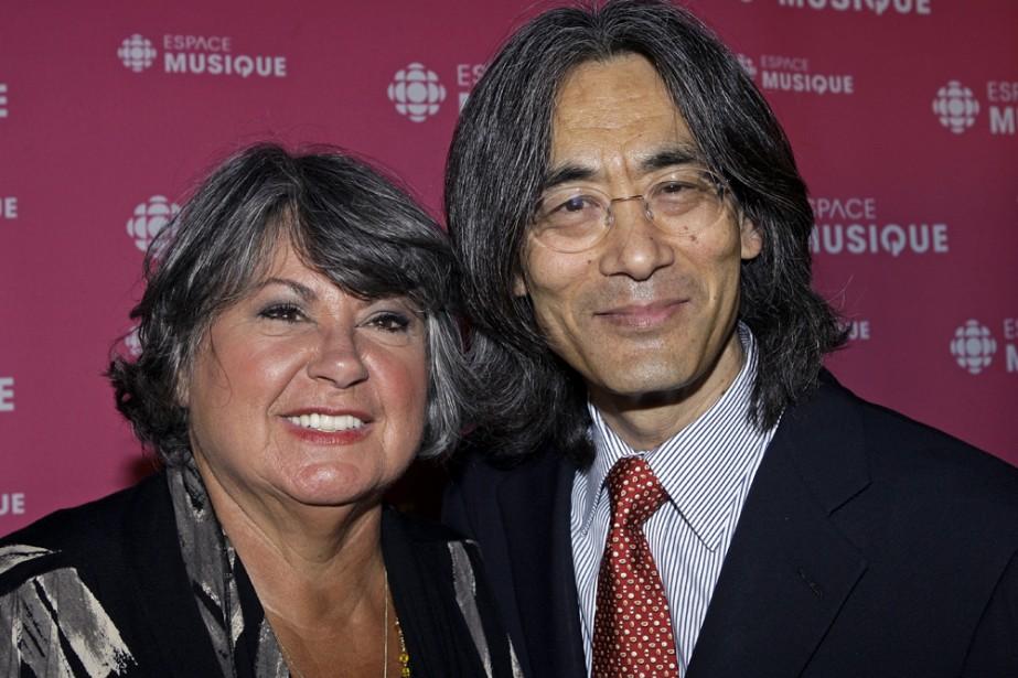 Ginette Reno et Kent Nagano souligneront le 35e... (Photo: Robert Mailloux, La Presse)