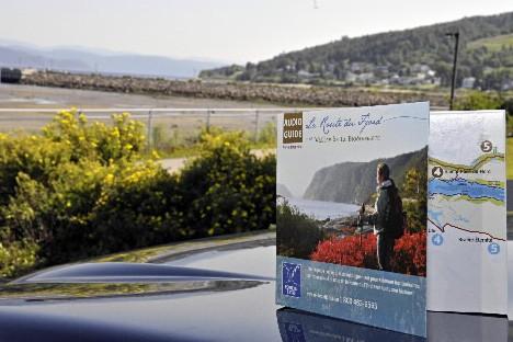 Un audioguide pour parcourir la route du fjord... (Photo: Le Quotidien)