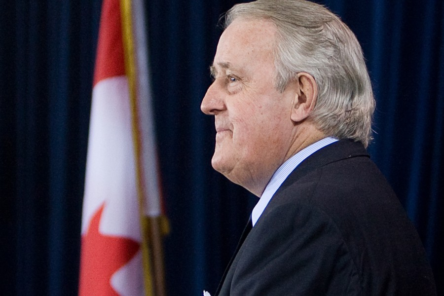 Brian Mulroney, lors de la Commission Oliphant.... (Photo: Archives PC)